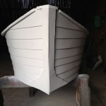 Front View of Boat Shell